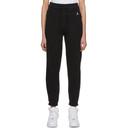 Jordan Black Fleece Lounge Pants