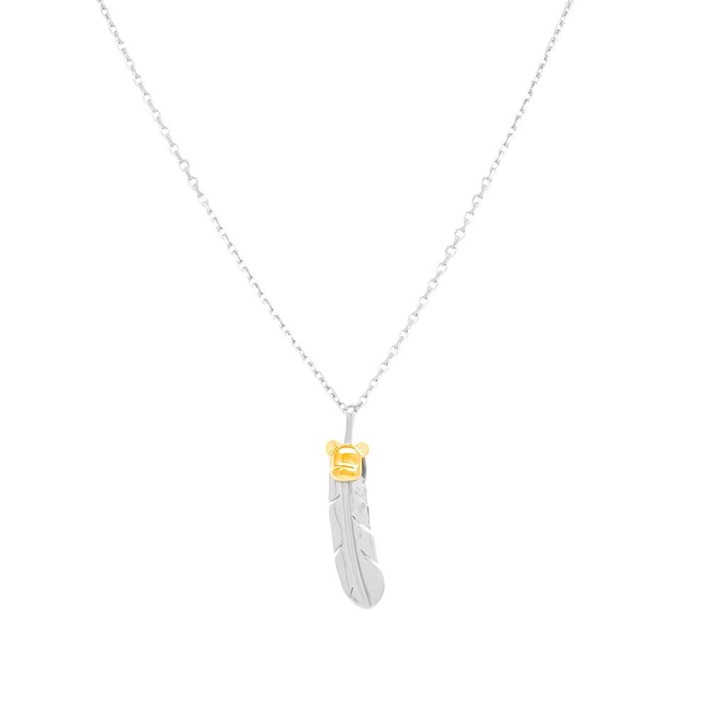 Photo: Medicom x Jam Home Made Large Feather Necklace