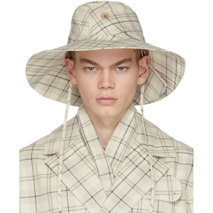 Photo: LHomme Rouge Beige Manifest Cut Hat