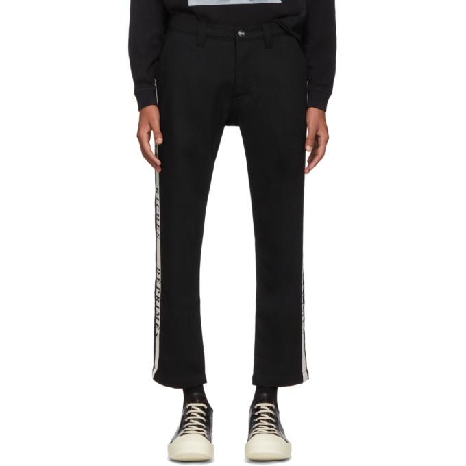Photo: Enfants Riches Deprimes Black Wool Button Down Trousers