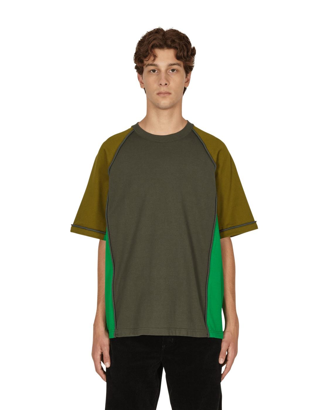 Photo: Cav Empt Paneled Heavy Big T Shirt Green