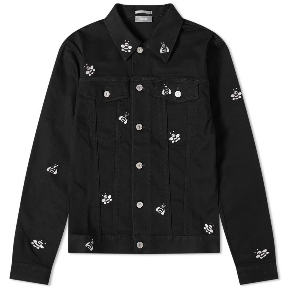 Photo: Dior Homme x KAWS Bee Denim Jacket