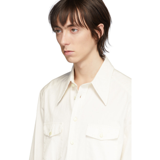 Lemaire Off-White Western Shirt
