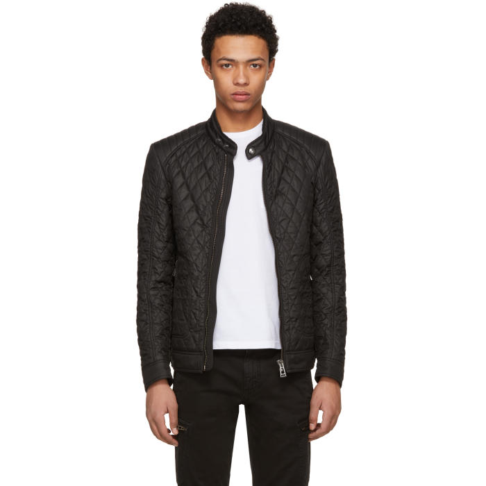 Photo: Belstaff Black New Bramley 2.0 Jacket