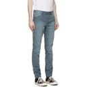 Ksubi Blue Garment-Dyed Chitch Jeans