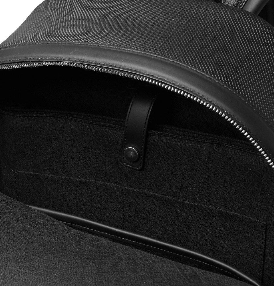 Bottega Veneta - Marco Polo Textured-Leather Backpack - Black