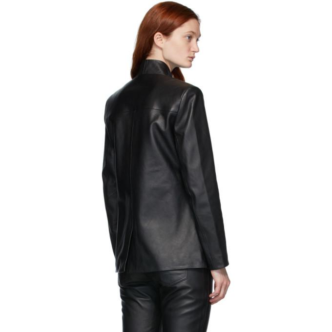 Won Hundred Black Alberta Leather Jacket