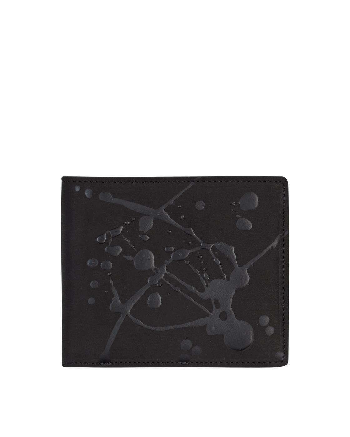 Photo: Maison Margiela Classic Leather Billfold Wallet Black/Paint