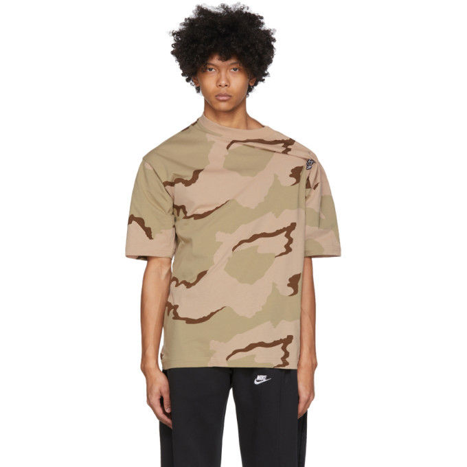 Photo: Bless Beige and Brown Camo Be Less T-Shirt