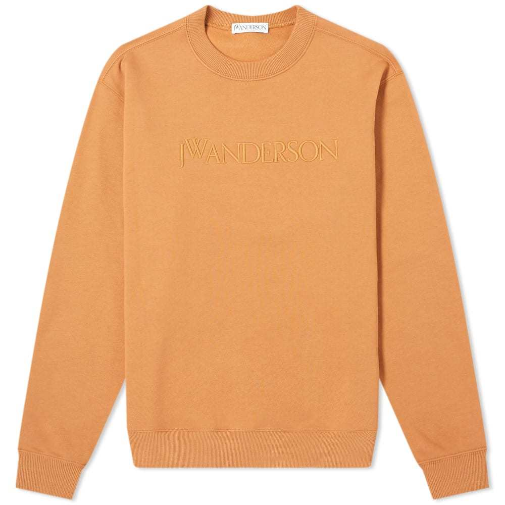 Photo: JW Anderson Logo Embroidered Crew Sweat