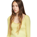 3.1 Phillip Lim Yellow Cropped Sweater