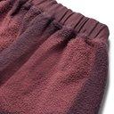 Aries - Logo-Print Tie-Dyed Cotton-Terry Sweatpants - Burgundy