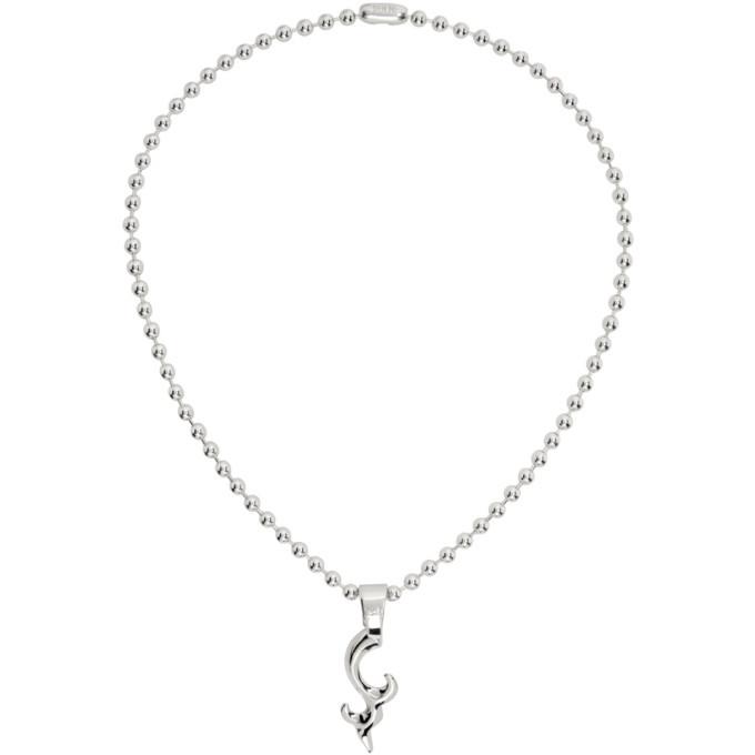 Photo: Martine Ali Silver Caffein Chain Necklace