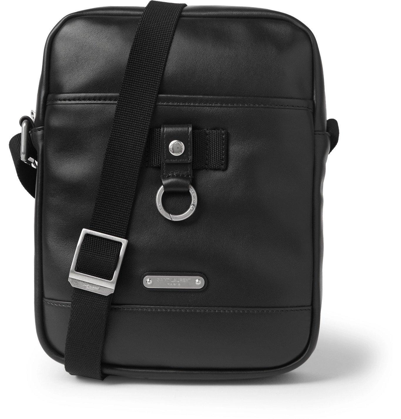 Photo: SAINT LAURENT - Rivington Leather Messenger Bag - Black