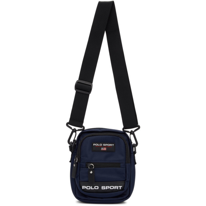 Photo: Polo Ralph Lauren Navy Polo Sport Crossbody Bag