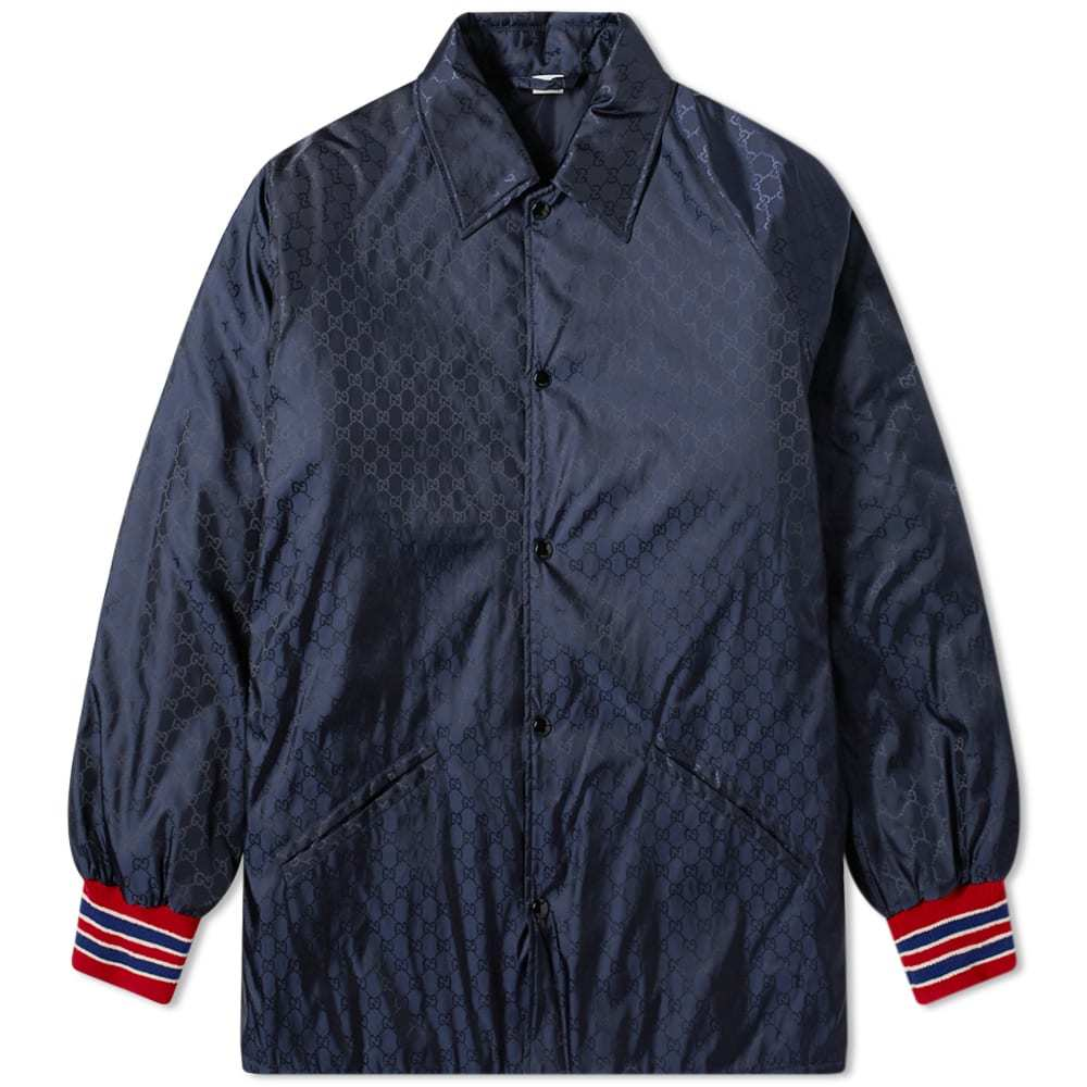 Photo: Gucci GG Jacquard Coach Jacket