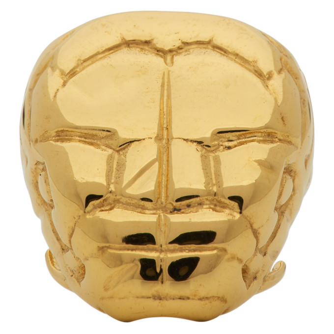 Photo: Alan Crocetti Gold Nashash Head Ring