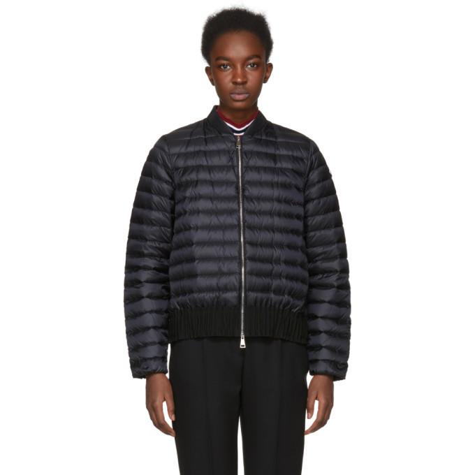 Moncler Black Down Barytine Jacket
