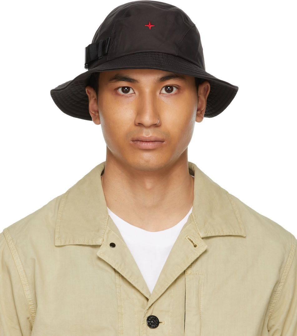 Photo: Stone Island Black Marina Bucket Hat
