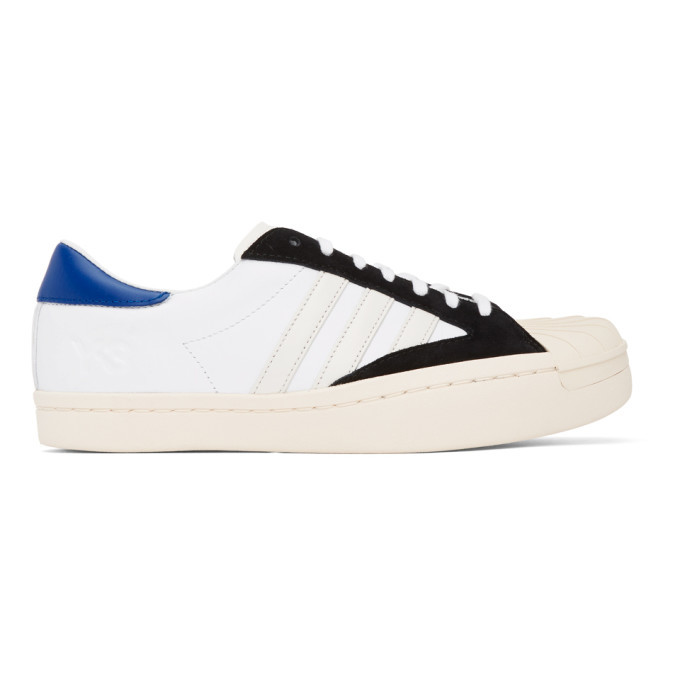 Photo: Y-3 White and Black Yohji Star Sneakers