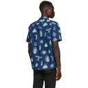 RRL Indigo Aloha Camp Shirt