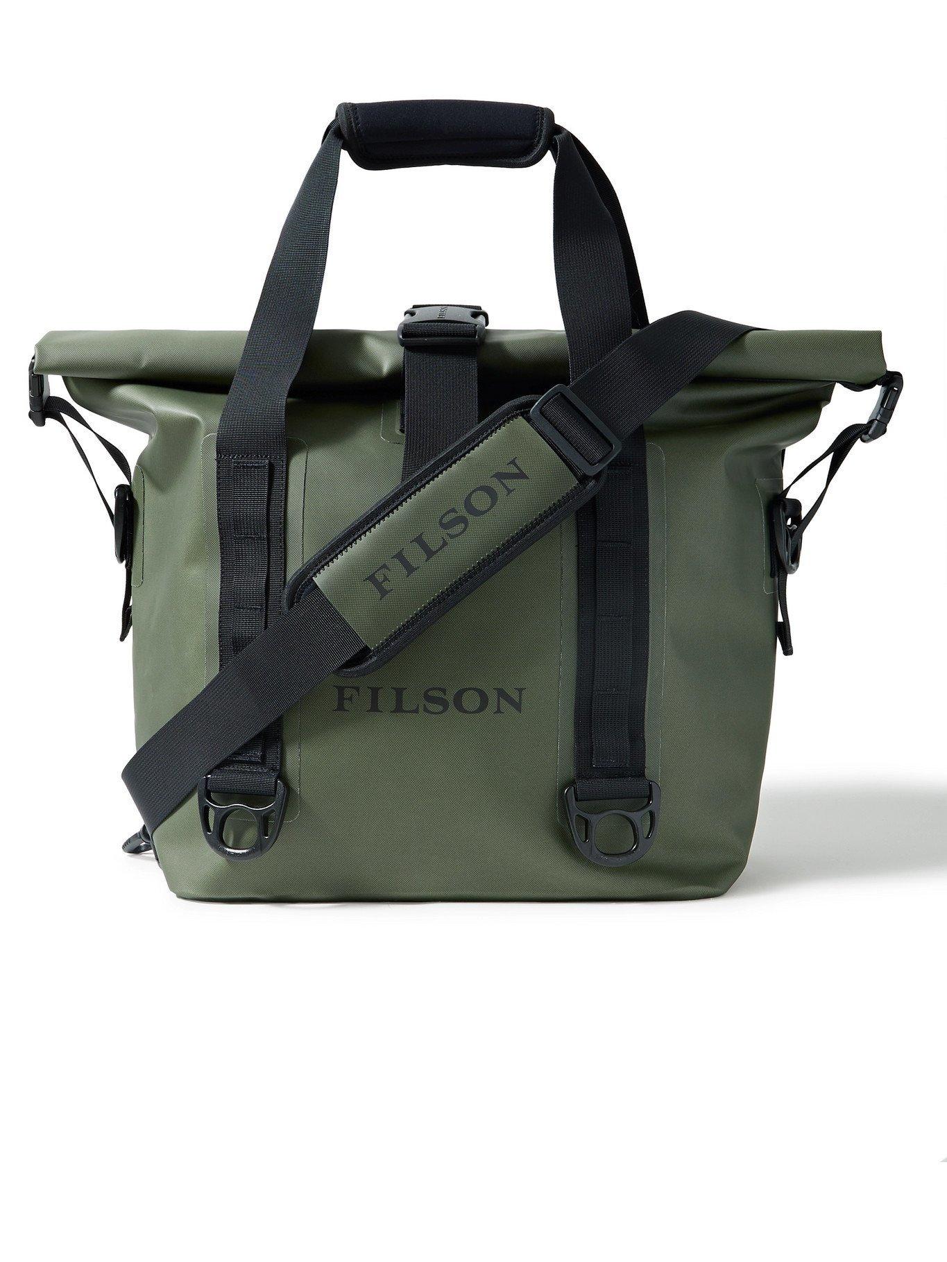 FILSON - Logo-Print TPU-Coated Nylon Dry Tote Bag - Green