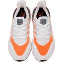 adidas Originals Grey and Orange Ultraboost 21 Sneakers