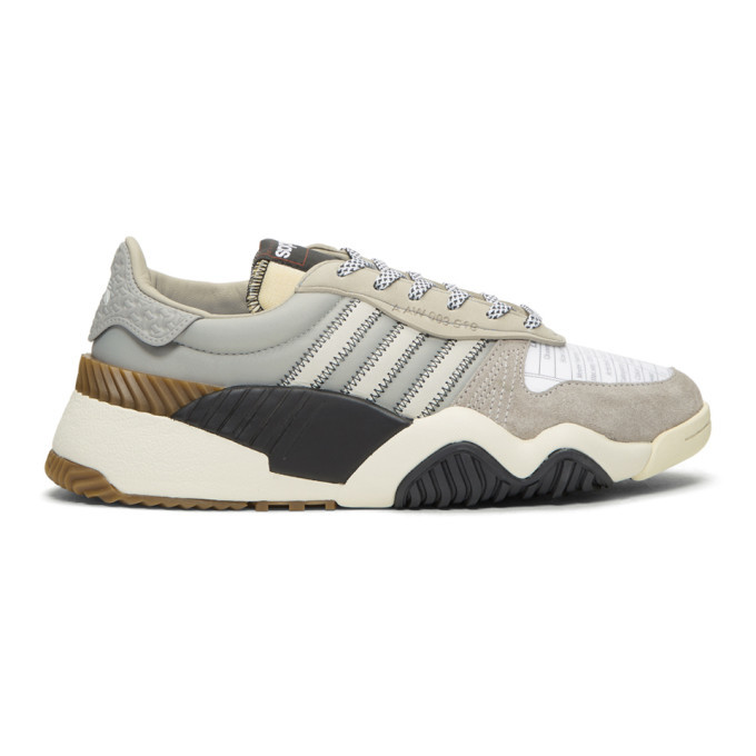 Photo: adidas Originals by Alexander Wang Grey Turnout Trainer Sneakers