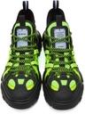 MCQ Black & Green In-8 Orbyt Descender Sneakers