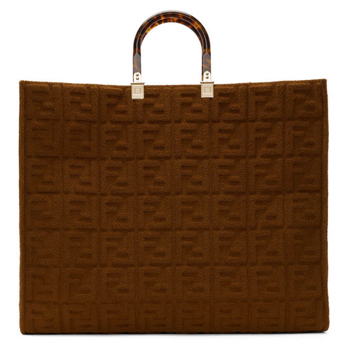 Photo: Fendi Brown Forever Fendi Sunshine Shopper Tote