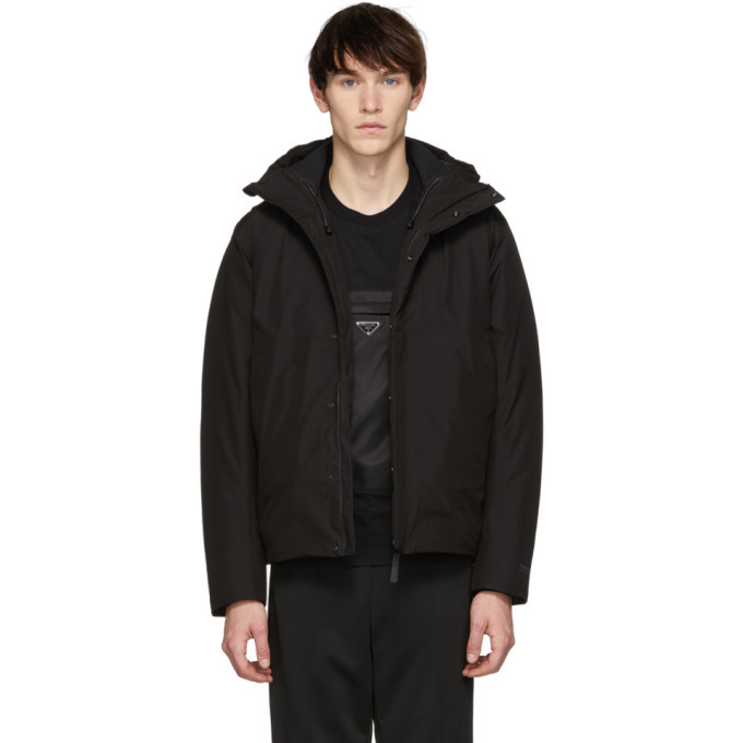 Photo: Norse Projects Black Down Gore-Tex® Fyn Parka
