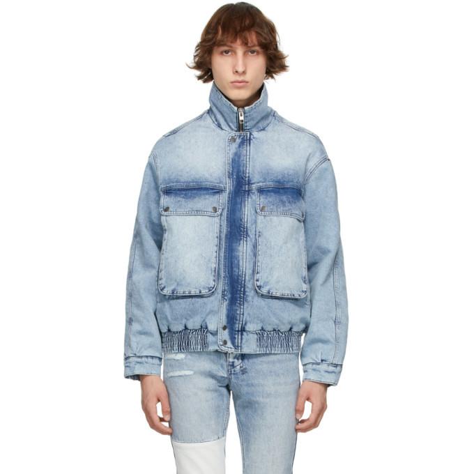Photo: Ksubi Blue Denim Kolossus Jacket