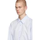 Raf Simons Blue Burning Big Fit Shirt