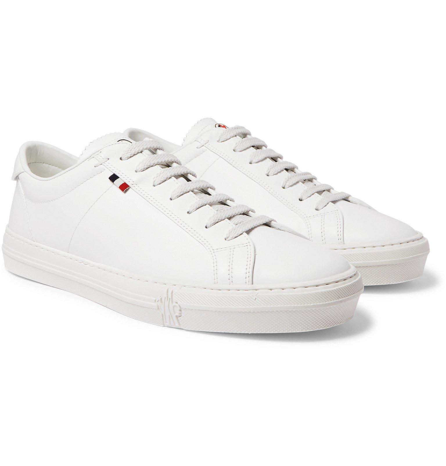 Photo: Moncler - Monaco Leather Sneakers - White