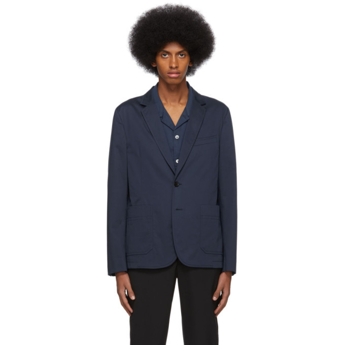 Photo: PS by Paul Smith Navy Buggy Blazer