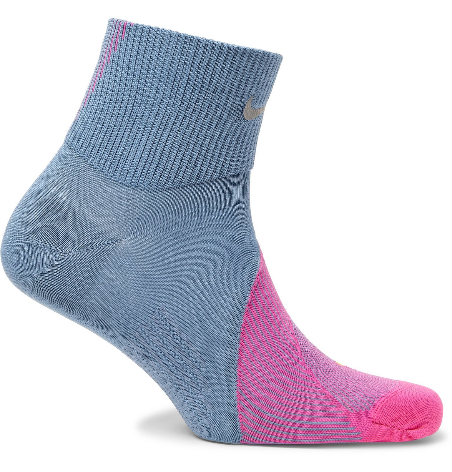 Photo: Nike Running - Spark Cushioned Dri-FIT Socks - Blue