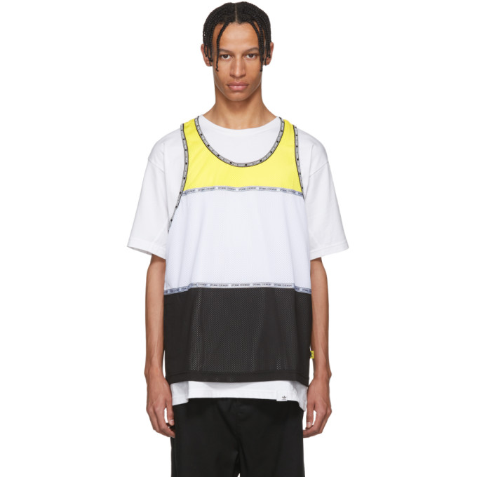 Photo: Opening Ceremony Multicolor Limited Edition Colorblock Tank Top