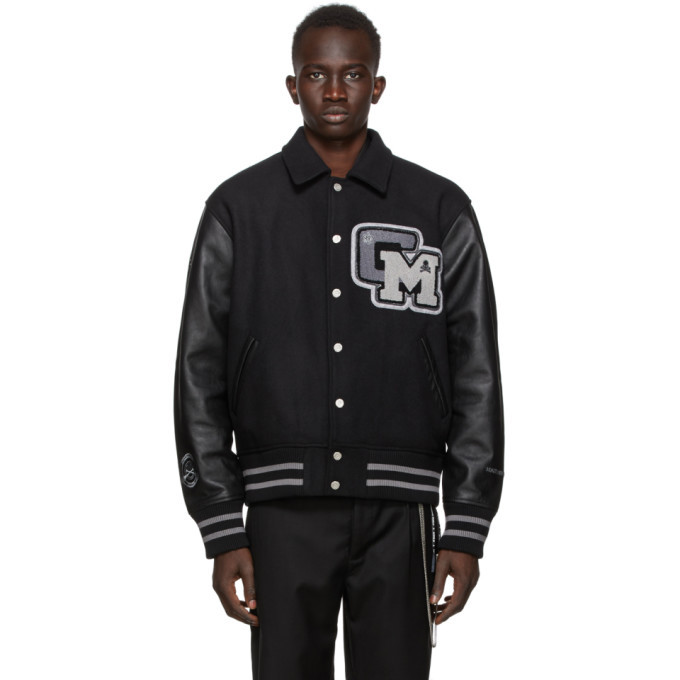 Photo: mastermind JAPAN Black C2H4 Edition Baseball Jacket