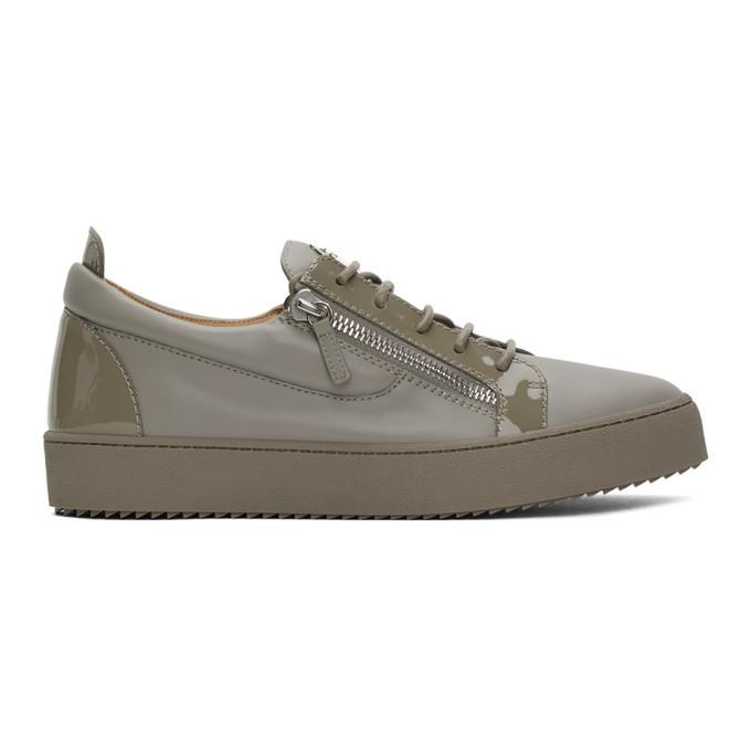 Photo: Giuseppe Zanotti Grey May London Birel Sneakers