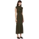 3.1 Phillip Lim Khaki Cowl Neck Dress