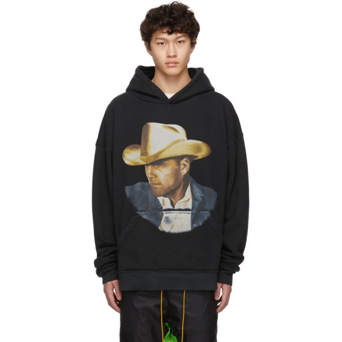 Photo: Rhude Black Wild West Cowboy Hoodie