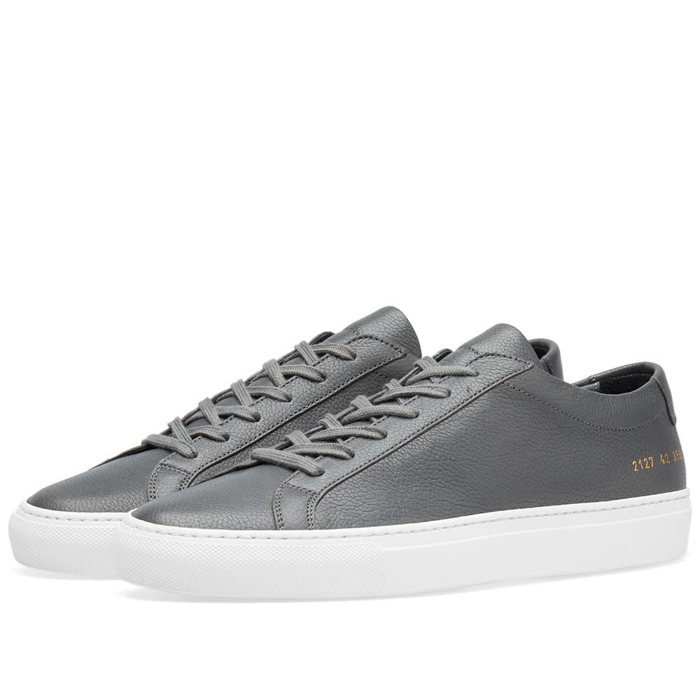 Common Projects Original Achilles Low Premium Grey