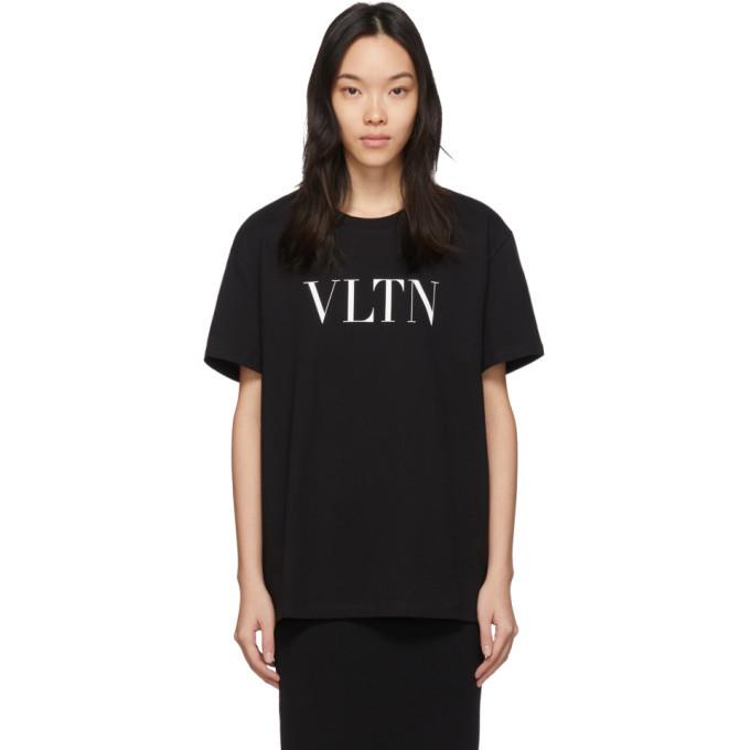 Photo: Valentino Black VLTN T-Shirt