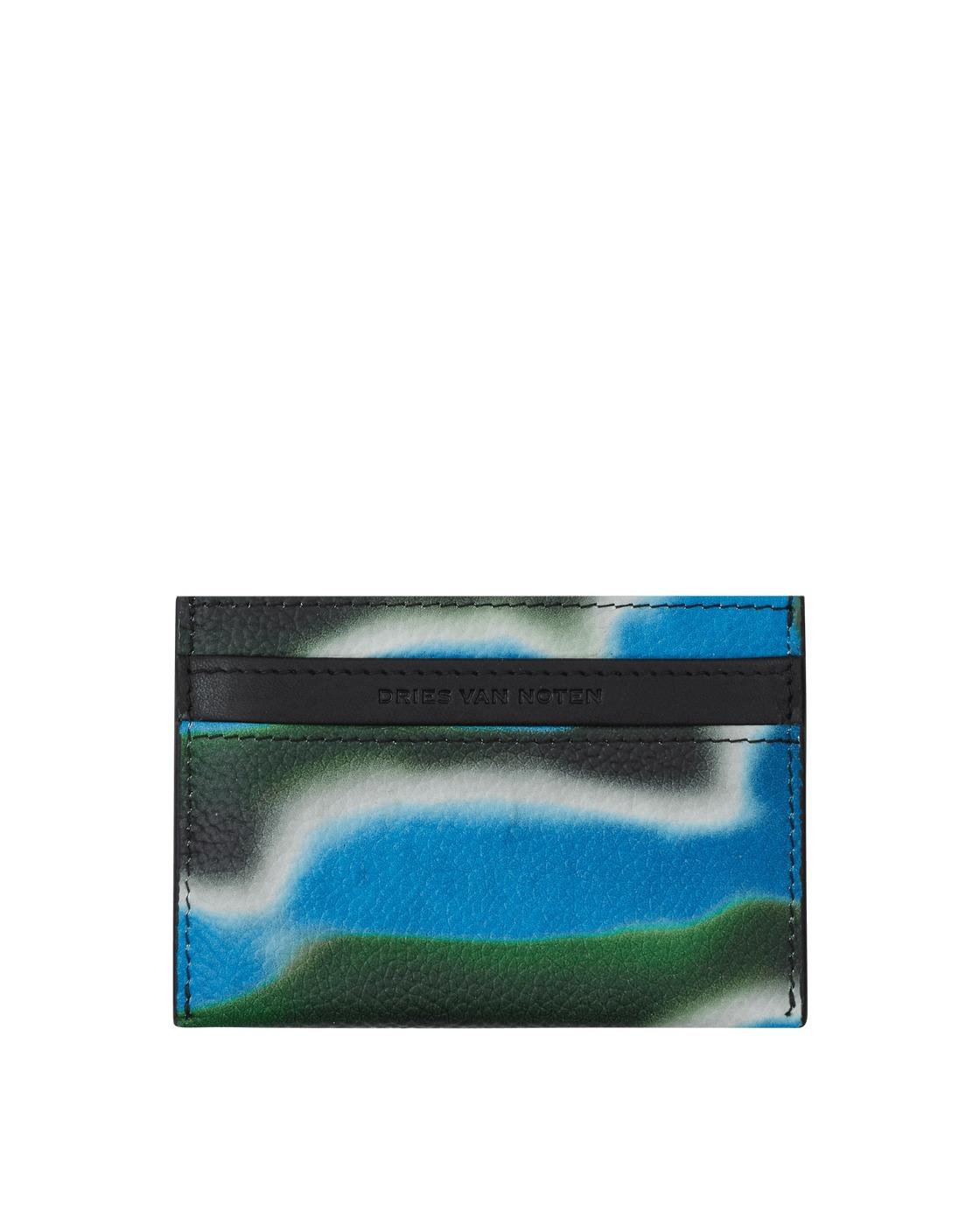 Photo: Dries Van Noten Len Lye Card Holder Blue