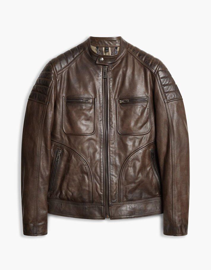 Photo: Belstaff Weybridge 2017 Biker Jacket Black