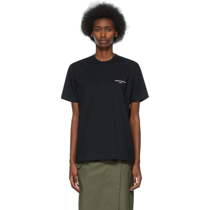 Photo: Comme des Garcons Homme Plus Black Logo T-Shirt
