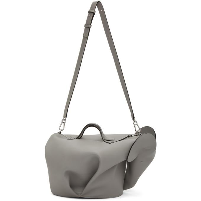 Photo: Loewe Grey XL Elephant Bag