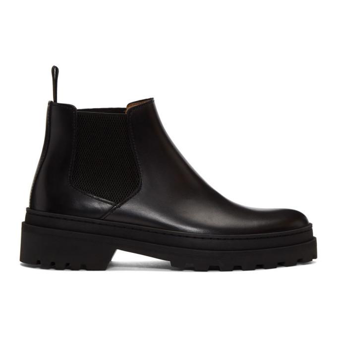 Photo: A.P.C. Black Marcus Chelsea Boots