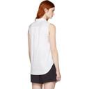 3.1 Phillip Lim White Patchwork Sleeveless Shirt
