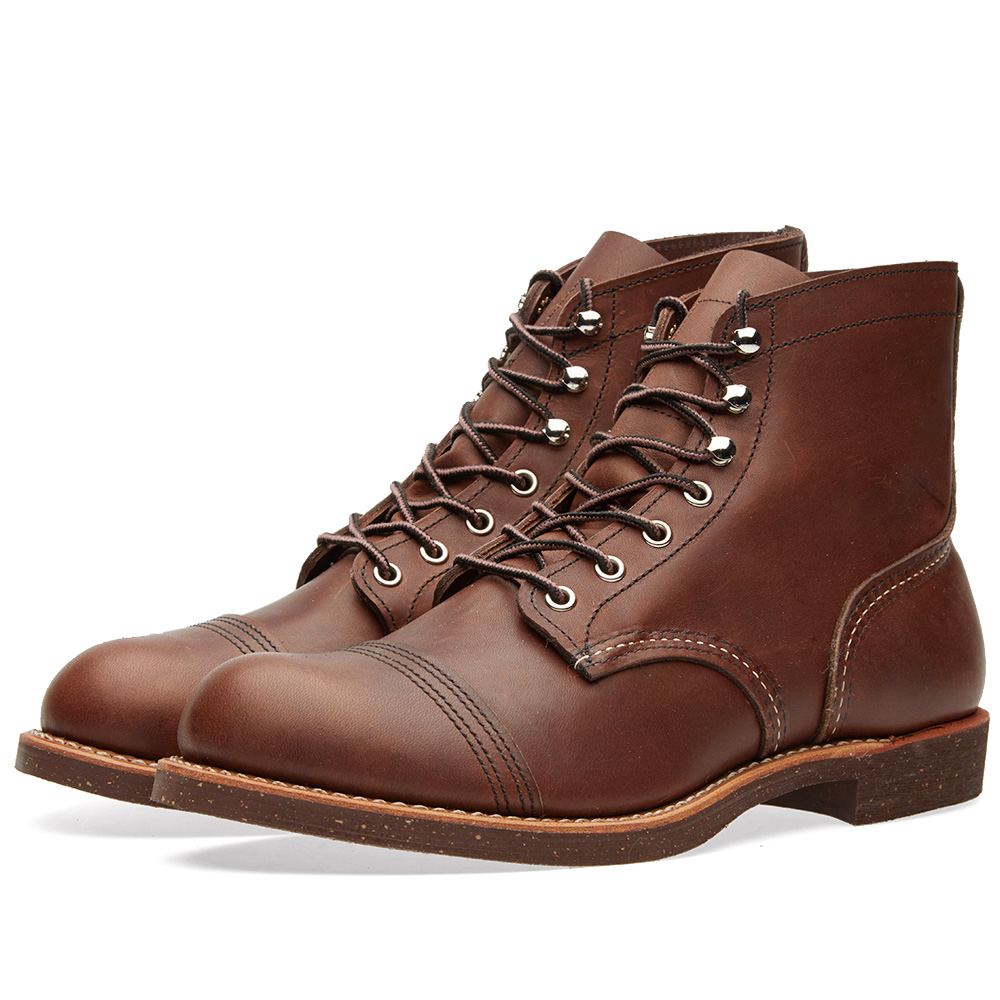 "Photo: Red Wing 8111 Heritage 6"" Iron Ranger Boot Brown"